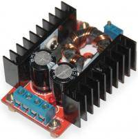 DC-DC (step up) converter increases the 12-35V 150W