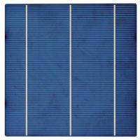 The solar cell 4.28Vt polycrystalline