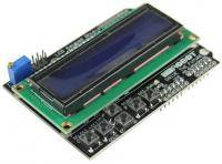 LCD 16x2 display and keypad for Arduino