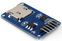 Micro SD Card Reader with SPI-interface