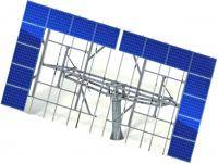 Solar tracker 40 panels (without metal)
