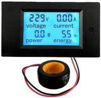 PZEM-061 Вольтметр, амперметр, ваттметр переменного тока style=