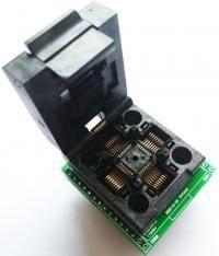 Adapter socket TQFP32 QFP32 LQFP32 to DIP28 style=