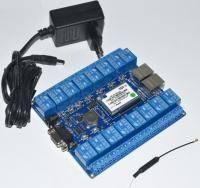 Сетевое реле HLK-SW16 16 каналов ( Wi-Fi)