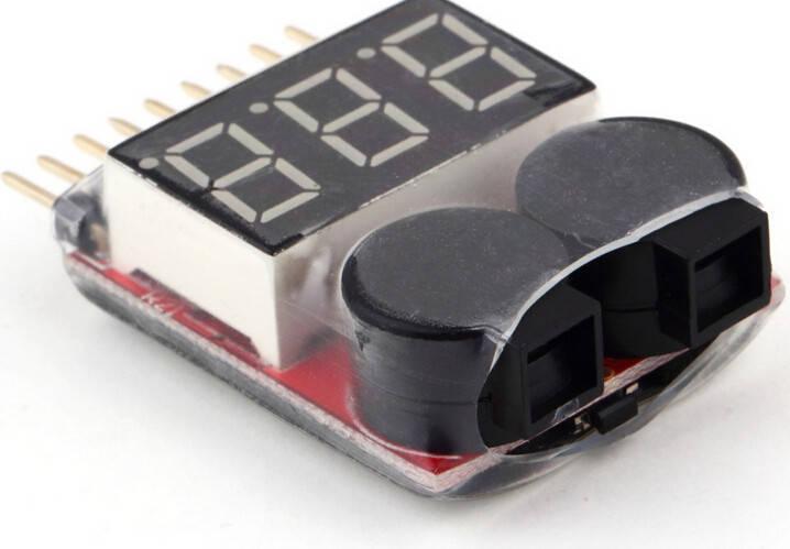 Индикатор разряда аккумулятора1-8S