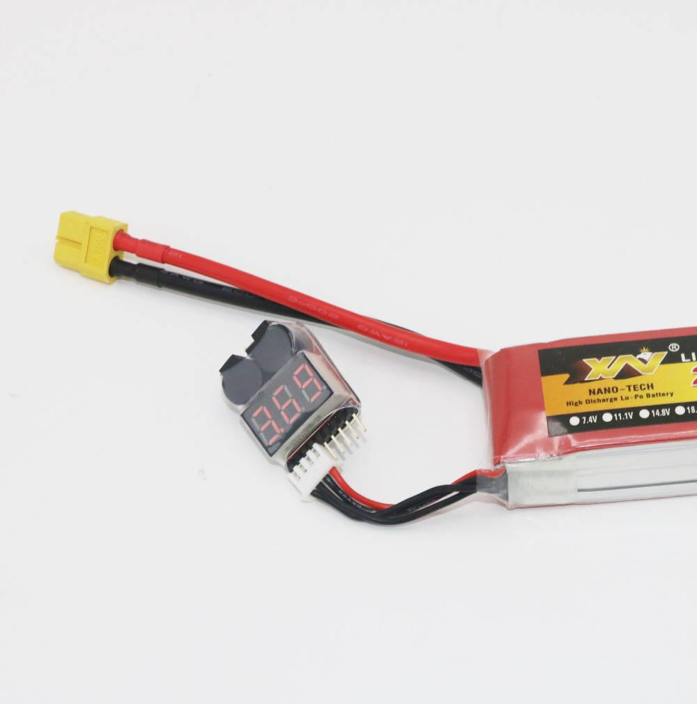 Индикатор разряда аккумулятора 1-8