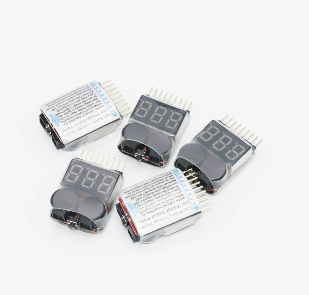 Индикатор разряда аккумулятора 1-8S
