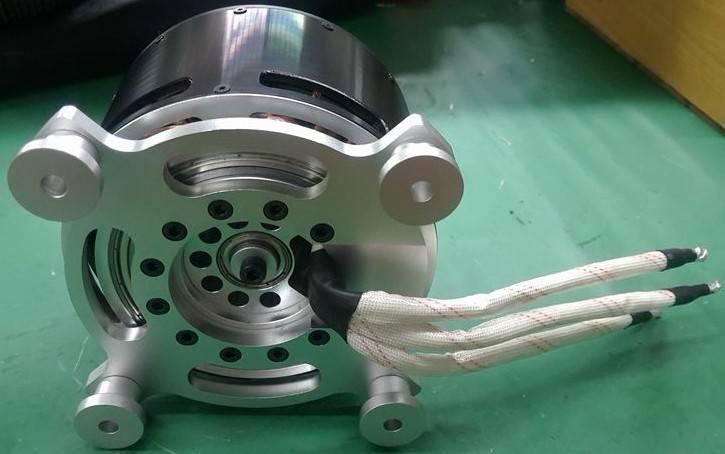 BLDC двигатель KV50 15kwatt