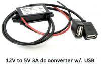 Converter 12 to 5V 3A  USB Output