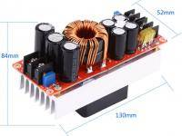 Voltage converter boosting 1500W 30A