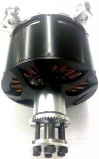 Brushless motor 120100 KV 50 25 kW