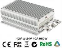 12В до 24В 40A повышающий конвертер напряжения