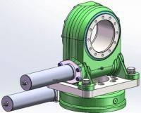 Мотор-редуктор  SVH7 двухосевой