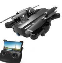 Professional quadrocopter with folding housing Phantom D5HW (Pro) with a WiFi drone camera