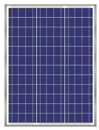 Сонячна батарея (панель) 50Вт, монокрісталічна AX-50P, AXIOMA