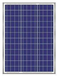Solar battery (panel) 60W, polycrystalline AX-60P, AXIOMA