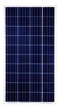Solar battery (panel) 65 W, polycrystalline AX-65P, AXIOMA