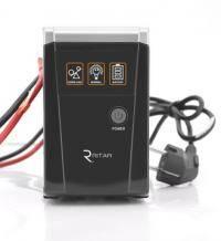 ДБЖ з правильною синусоїдою RITAR RTSW-500 LED (300Вт), 12В