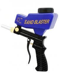 Sandblasting device