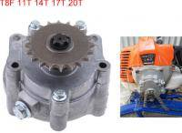 Gearbox for T8F brushcutter. Moto bike