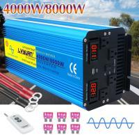 Инвертор с чистой синусоидой 24v - 110v 4000Вт LVYUAN