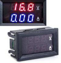 Цифровий амперметр вольтметр постійного струму 100 В 10A style=