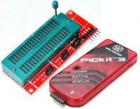 PicKit 3 programmer + ZIF-board for the PICkit 2 (PICkit 3)  style=