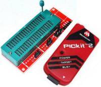 PicKit 2 programmer + ZIF-board for the PICkit 2 (PICkit 3)