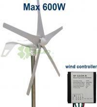 Вітрогенератор 600 Вт / 12 В