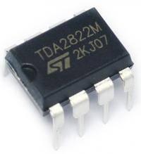 TDA2822 микросхема
