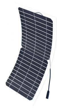 Flexible solar panel 10 W 12 V/5B usb