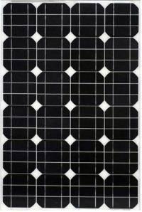 Солнечная батарея (панель) PERLIGHT 50 Вт / 12 В (монокристаллическая)