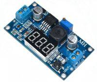 LM2596 DC 1.3 - 37 in the step-down converter with adjustable voltage meter
