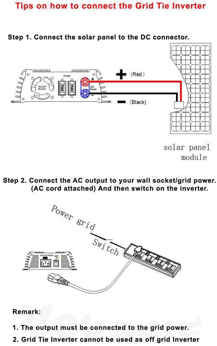сетевой инвертор схемма подключения