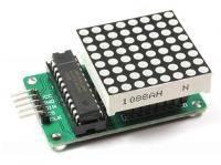 MAX7219 модуль точечной светодиодной матрицы