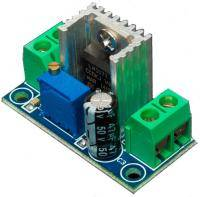LM 317 DC-DC converter step-down voltage adjustment