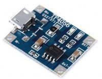 TP4056 Модуль зарядное устройство для li-ion аккумуляторов  style=