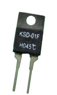 Ksd-01f 45  нормально замкнутый термостат