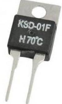 Ksd-01f 70  нормально замкнутый термостат