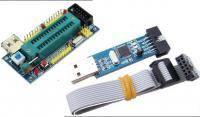 Programmer AVR USBasp + Zif board 28 pin for Atmega8 ATmega48 ATMEGA88