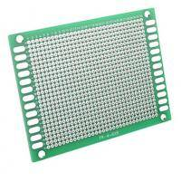 6 x 8 cm double-sided printed circuit board style=