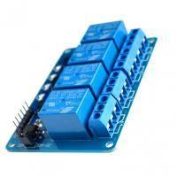 Модуль реле 4-х канальний 5V для Arduino PIC ARM AVR